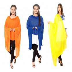 Cotton Dupatta Combo Pack Of 3
